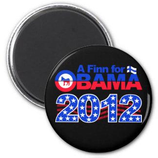 FINN FOR OBAMA 2012 magnet