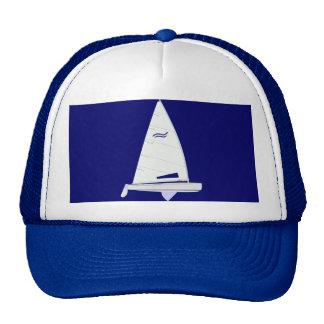Finn Racing Sailboat onedesign Olympic Class Trucker Hat