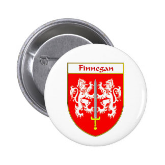 Finnegan Coat of Arms Family Crest Buttons