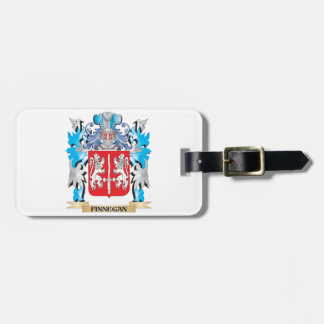 Finnegan Coat of Arms - Family Crest Luggage Tag