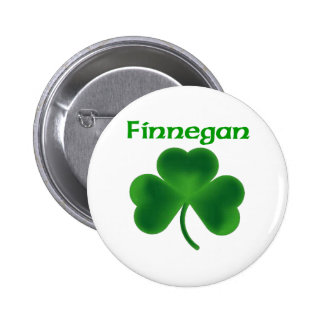 Finnegan Shamrock Buttons