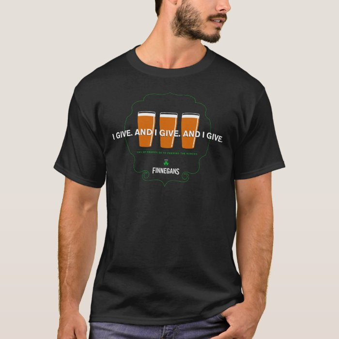 FINNEGANS Classic Give T-Shirt