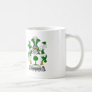 Finnerty Family Crest Coffee Mug