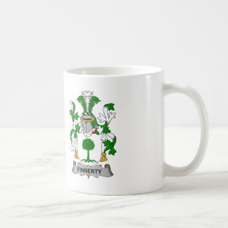 Finnerty Family Crest Coffee Mugs