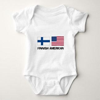 Finnish American Baby Bodysuit