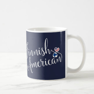 Finnish American Entwined Hearts Mug