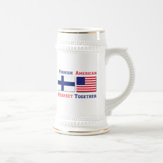 Finnish American Perfect Beer Stein