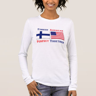 Finnish American -  Perfect Together Long Sleeve T-Shirt