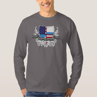 Finnish-American Shield Flag T-Shirt