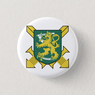 Finnish Army Pinback Button