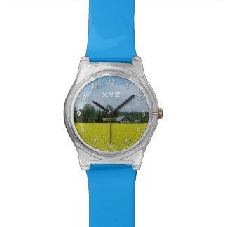Finnish Countryside custom monogram watches