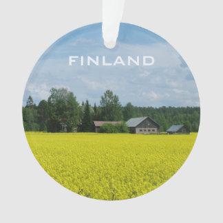 Finnish Countryside custom ornament