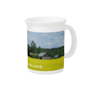 Finnish Countryside custom pitcher