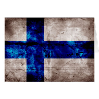 Finnish Flag Card