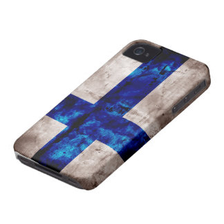 Finnish Flag iPhone 4 Case