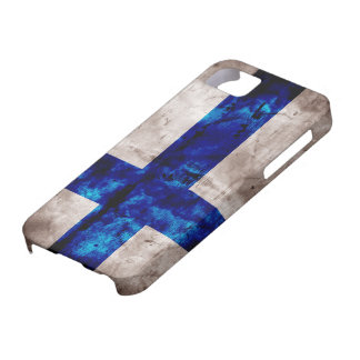 Finnish Flag iPhone SE/5/5s Case