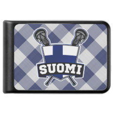 Finnish Flag Lacrosse Battery Pack Power Bank at Zazzle
