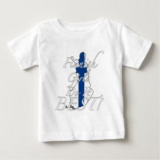 Finnish Girls Do It Best! Baby T-Shirt