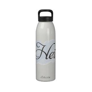 Finnish - Hei Water Bottles