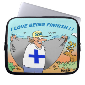FINNISH HERITAGE LAPTOP SLEEVE ABOUT FINLAND
