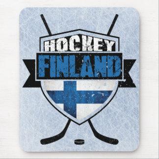 Finnish Hockey Shield Suomi Mouse Pad
