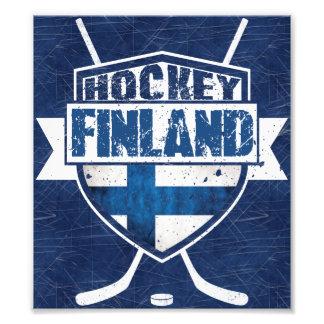 Finnish Hockey Shield Suomi Print Photo Print