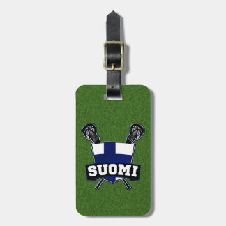 Finnish Lacrosse Luggage Tag Template