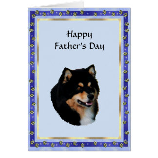 Finnish Lapphund, Father's Day Card