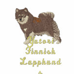 Finnish Lapphund  -  light jacket with brown lappy