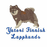 Finnish Lapphund  -  T-shirt with brown lappy