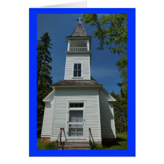 Finnish Lutheran Church Stationery Note Card