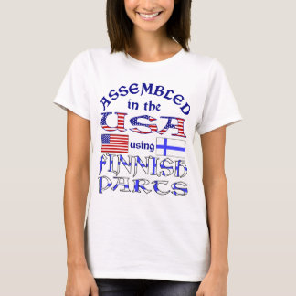 Finnish Parts Front T-Shirt