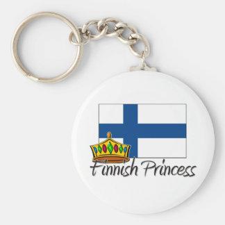 Finnish Princess Keychain