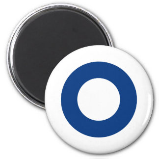 Finnish roundel magnet
