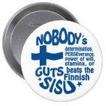 Finnish SISU button