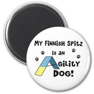 Finnish Spitz Agility Dog Magnet