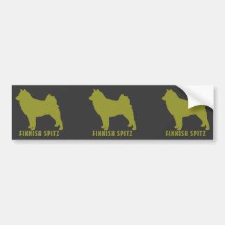 Finnish Spitz Bumper Stickers