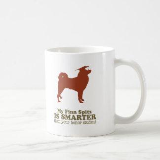 Finnish Spitz Classic White Coffee Mug