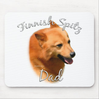 Finnish Spitz Dad 2 Mouse Pad