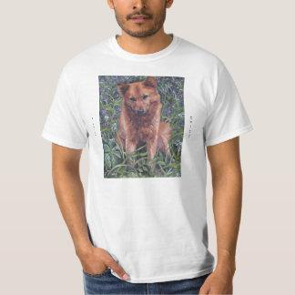 Finnish Spitz Fine Art T Shirt