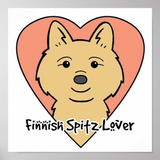 Finnish Spitz Lover Print