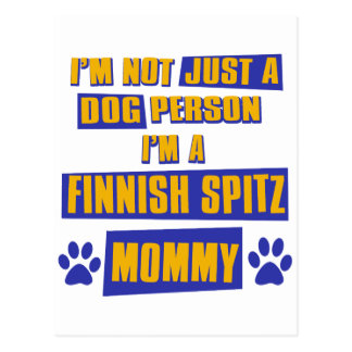 Finnish Spitz Mommy Post Cards