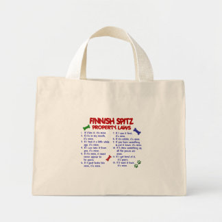 FINNISH SPITZ Property Laws 2 Bags
