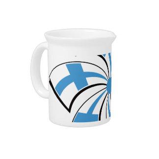 Finnish Star Beverage Pitcher