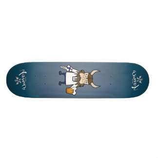 Finnish Viking Fan Skateboard