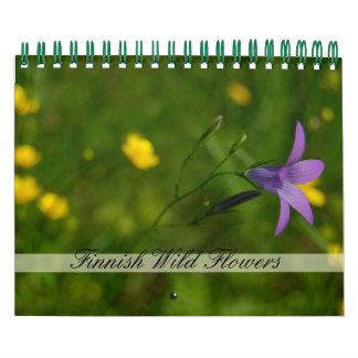 Finnish Wild Flowers Calendar