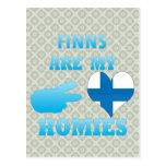 Finns are my Homies Postcard