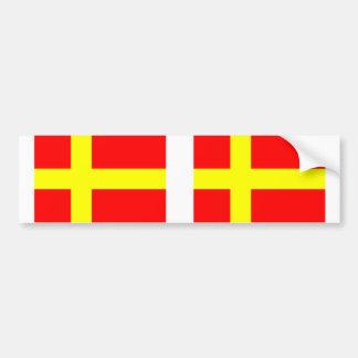 Finns de discurso suecos, Finlandia Etiqueta De Parachoque