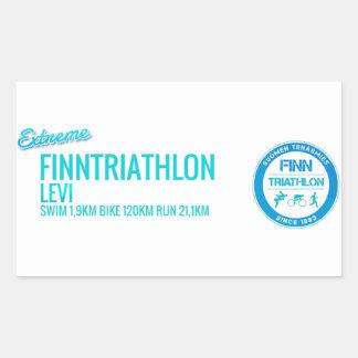Finntriathlon Levi Rectangular Sticker