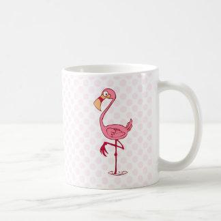 Finny Flamingo Coffee Mug